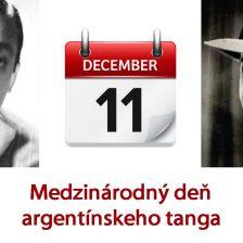 11. december je Medzinárodný deň argentínskeho tanga