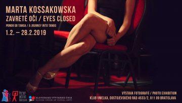 Zavreté oči - výstava tango-fotografií