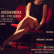 """Pozvánka na výstavu tango fotografií """"Zavreté oči"""""""